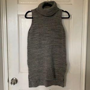 Cynthia Rowley Sleeveless Turtleneck Sweater